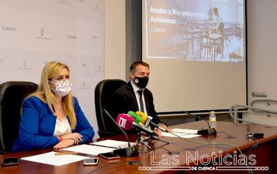 Microempresas y autónomos de Cuenca reciben 3,1 millones de euros de la Junta