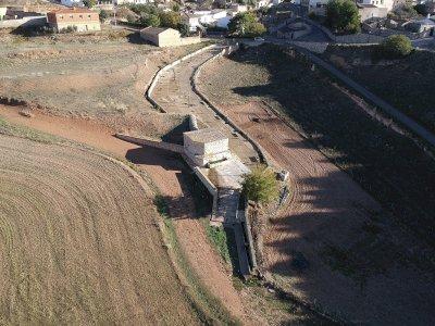 Castillo de Garcimuñoz convierte en recurso cultural una cisterna del siglo XV
