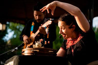 Jarocho y marionetas mexicanas en Titiricuenca