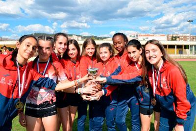 Doble compromiso nacional para el Club Atletismo Cuenca en pista