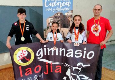 7 medallas para el Lao Jia Wu Shu en el XVIII Internacional de Ourense