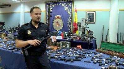 Detenido en Cuenca un implicado en la mayor red de tráfico de armas de España