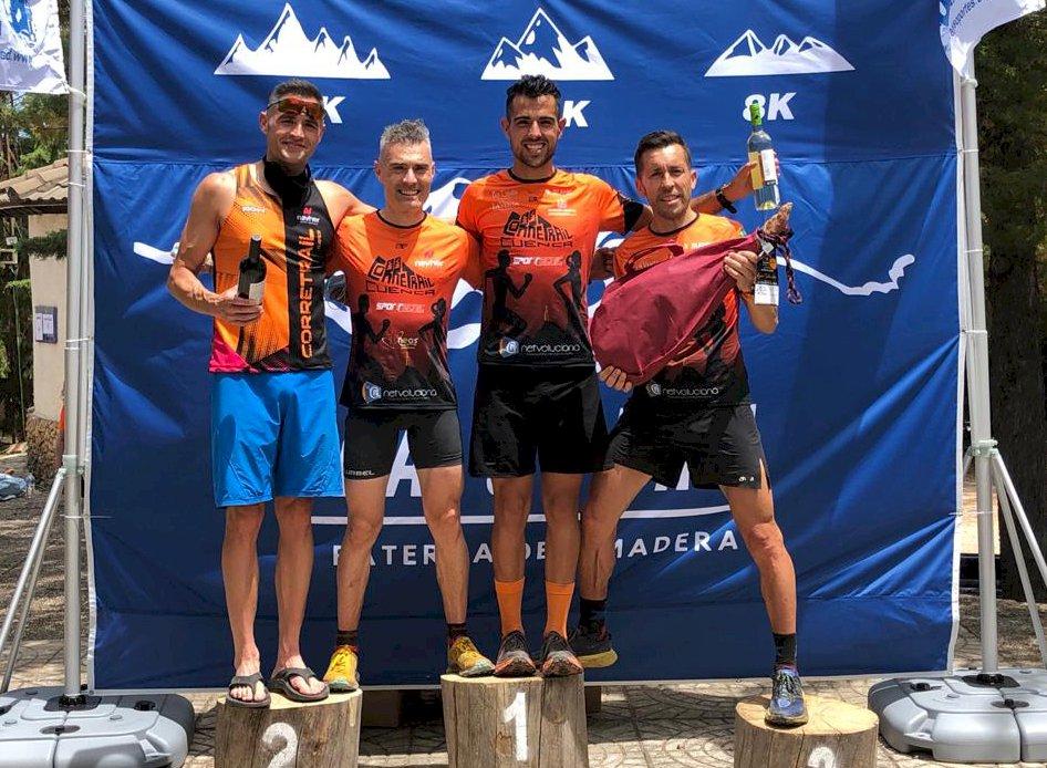 El Corretrail Cuenca se corona en la primera prueba de la Copa regional de carreras por montaña
