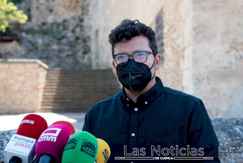 Adrián Martínez, concejal de Festejos. Foto: Saúl García