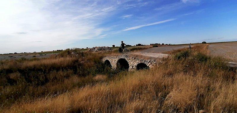uno de los senderos que discurre por el río Záncara