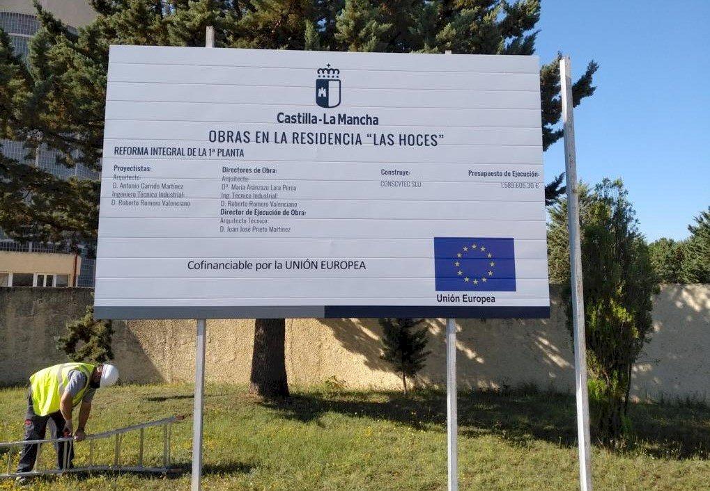 La Junta inicia nuevas obras de reforma en la residencia 'Las Hoces'