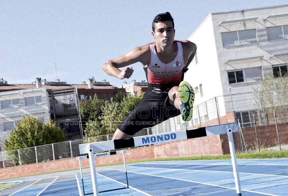 José Carlos Cano logra un subcampeonato regional en el 400 vallas