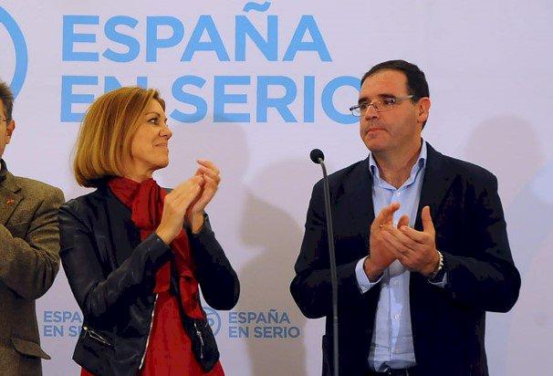 Prieto defiende que el PP no tiene que tomar medidas tras la imputación de Cospedal