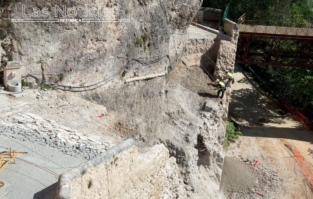 Los informes sobre el colapso de Canónigos, en la web municipal