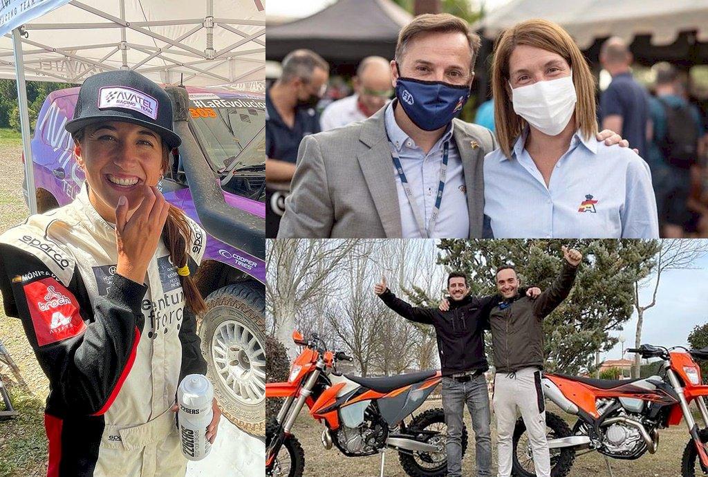 Presencia conquense en la Baja TT Extremadura