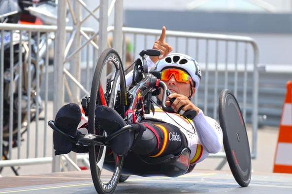 García-Marquina, subcampeón del mundo en contrarreloj