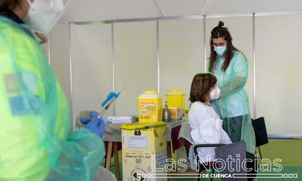 Castilla-La Mancha ha administrado 1,7 millones de vacunas frente a la Covid