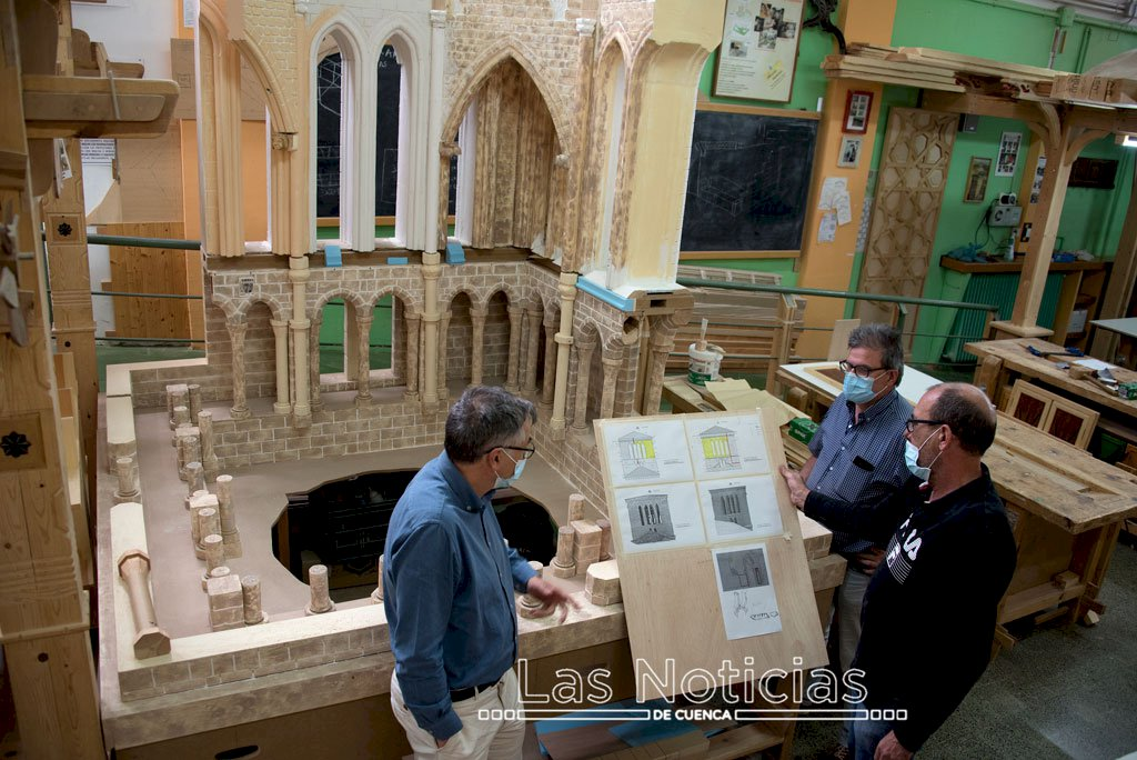 La Torre del Ángel protagoniza un proyecto del 'Pedro Mercedes'