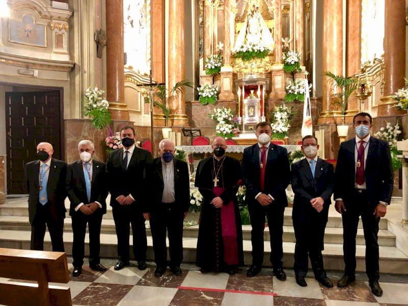 La Corporación municipal de Cuenca renueva sus votos a la patrona
