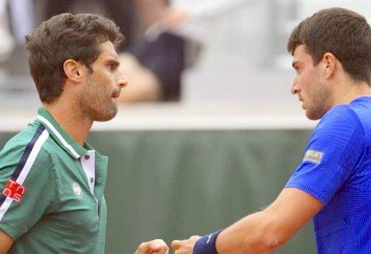 Andújar y Ramírez caen ante la dupla kazaja Bublik-Golubev en semis de Roland Garros