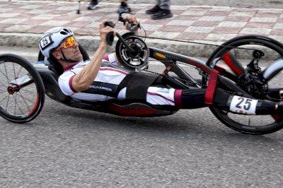 García-Marquina revalidó su campeonato de España en contrarreloj individual