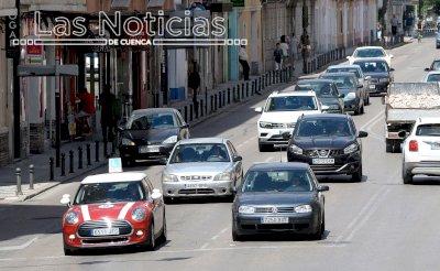Las matriculaciones en Cuenca crecen un 17,1% de enero a mayo