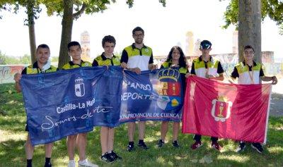 Tres oros para el Piragüismo Cuenca en el Campeonato de España de Media Maratón