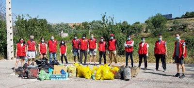 Cruz Roja se moviliza contra la 'basuraleza'