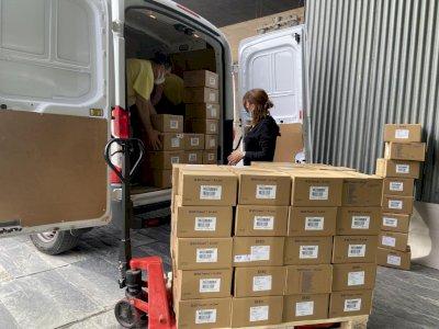 Los centros sanitarios han recibido más 210.000 artículos de protección esta semana