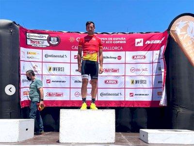 Nacho López-Caniego, campeón del Open de España BTT XCO 2021 en Máster 40