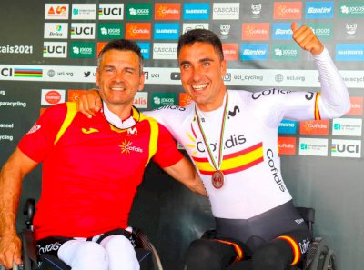García-Marquina, bronce en MH3 en el Mundial