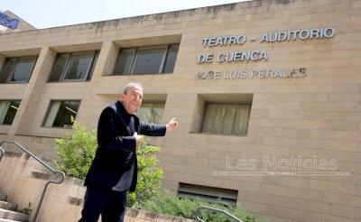 El Teatro Auditorio de Cuenca ya lleva el nombre de José Luis Perales