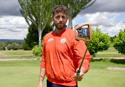 """Julio Ortega: """"El objetivo es ganar para seguir dejando alto al golf conquense"""""""