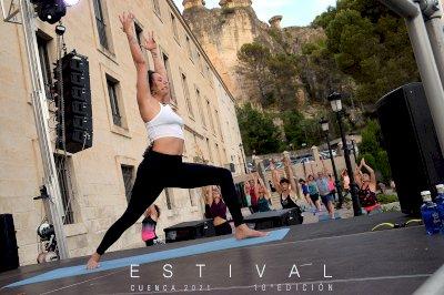 El yoga, protagonista en Estival Cuenca