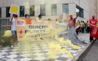 Habrá ocho jornadas de huelga en Geacam hasta mediados de agosto