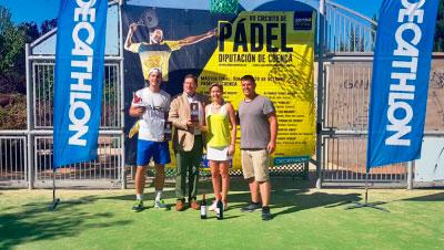 Arcas fue escenario de la séptima prueba del Circuito de Pádel Diputación