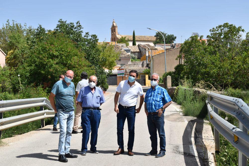 Diputación ampliará la CUV-2174 en el puente del río Jábaga
