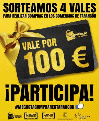 La Asociación de Comercio sortea cuatro vales de 100 euros en Tarancón