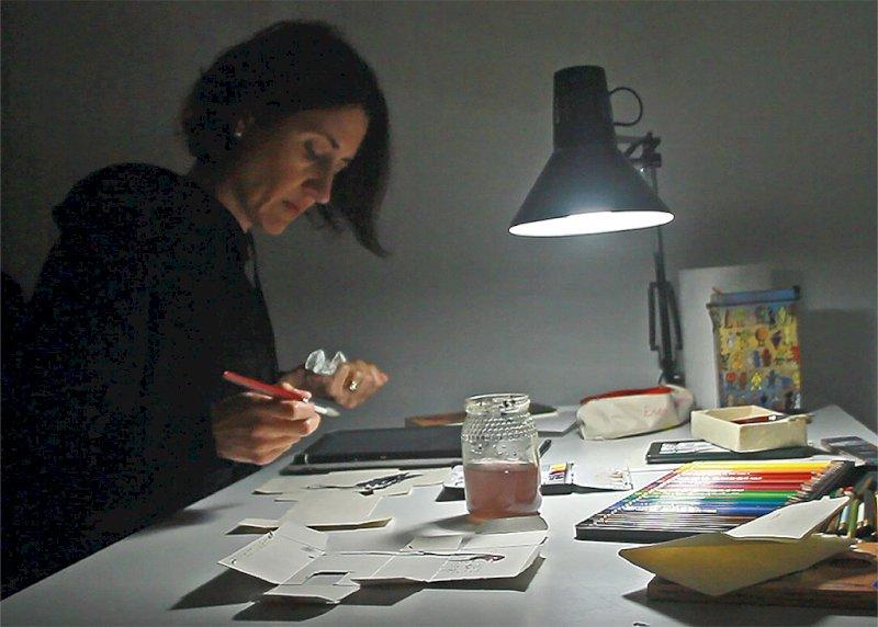 La ilustradora María Fernández de Terán.