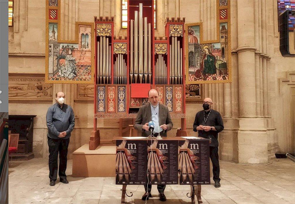 La XI edición de Música en la Catedral arranca el 10 de julio