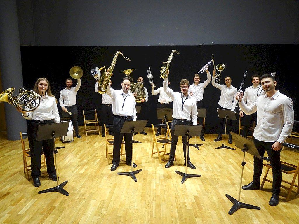 La Asociación Musical Alcarria y Campichuelo,  en el Festival Eurochestries´21