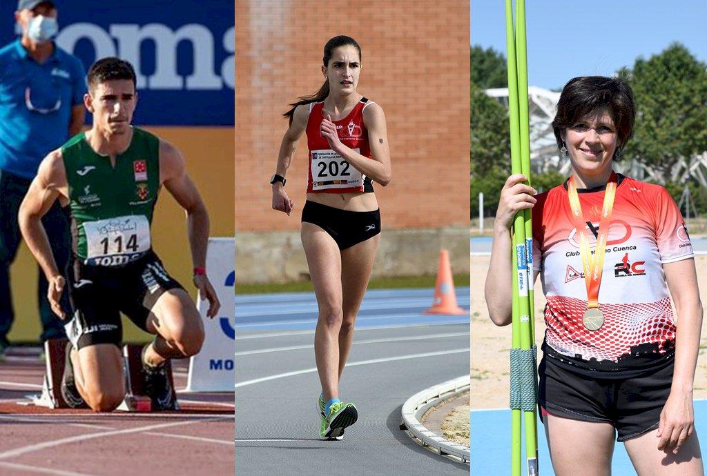 Notable actuación de los atletas conquenses en el nacional de federaciones autonómicas