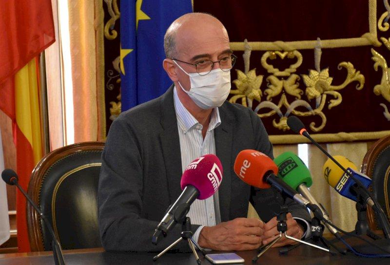Enrique Martínez, director del Proyecto Arraigo. Foto: Diputación de Cuenca