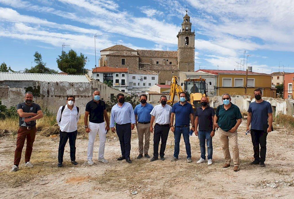 Comienzan las obras de la residencia de mayores 'Arco de la Malena'