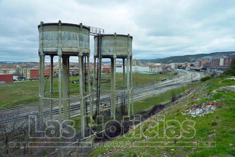 Terrenos de Adif en Cuenca. Foto: Saúl García
