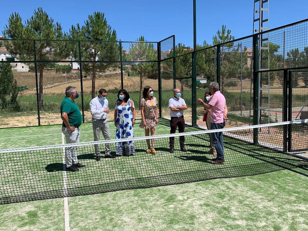 Nueva pista de pádel para Huerta de la Obispalía