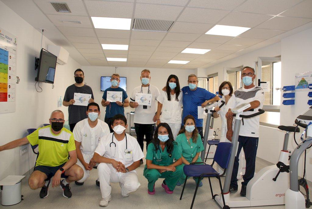 La Unidad de Rehabilitación Cardio-respiratoria de Cuenca finaliza su programa