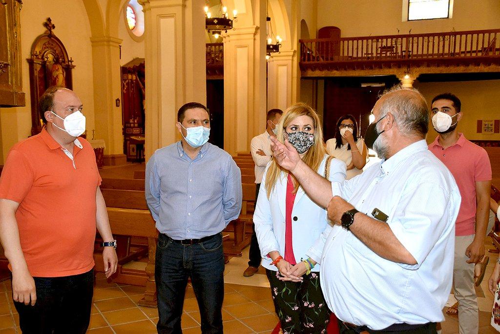 Diputación invierte en estos dos años más de 376.000 euros en la Parrilla