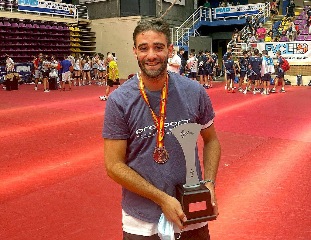 Carlos Martínez entrenará al Voleibol Leganés masculino de Superliga 2