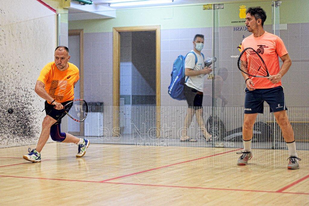 Éxito competitivo y de organización en el Campeonato de España de Veteranos de Squash 57