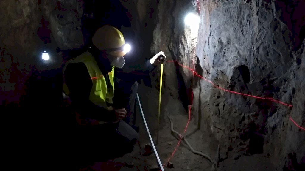 Hallados restos humanos de la Edad  del Bronce en Huerta del Marquesado