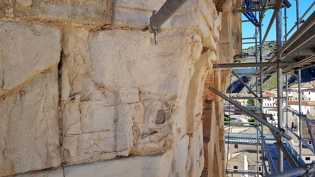 El chapitel de la torre del Salvador deberá ser reconstruido por completo