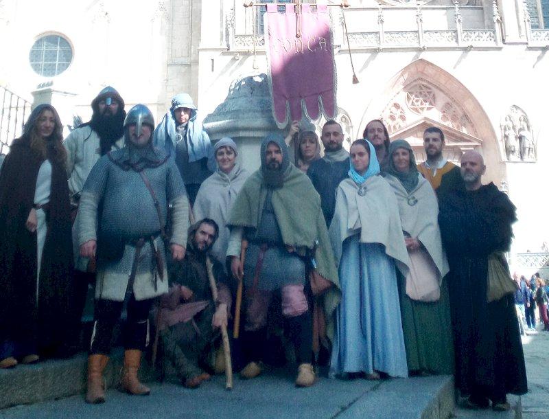 El grupo medieval Conca participará en Burgos en los funerales del Cid