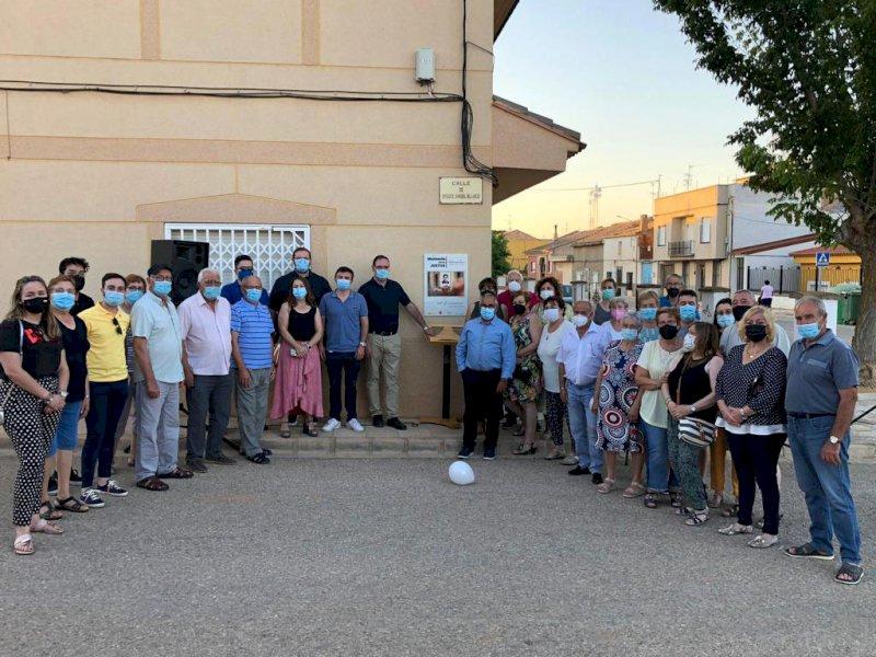 El Herrumblar homenajea a Miguel Ángel Blanco