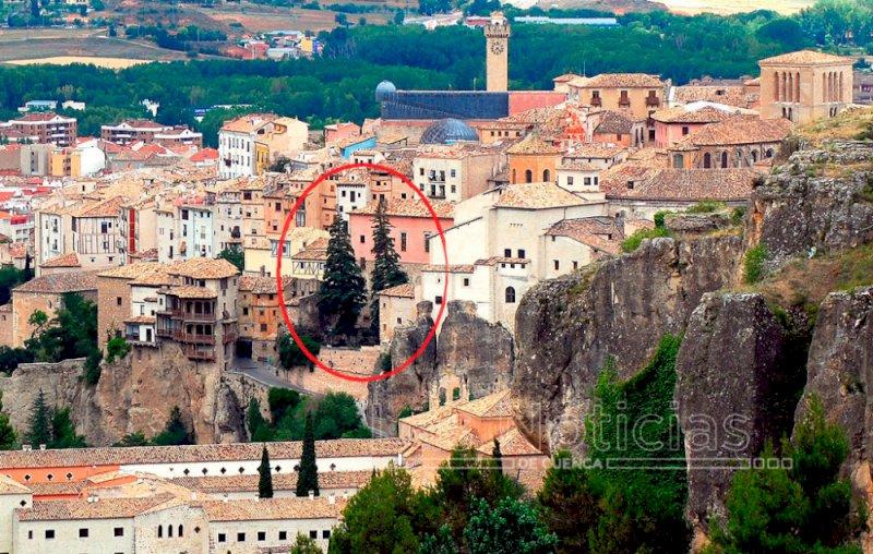 El Obispado retira los árboles del patio trasero de la Catedral